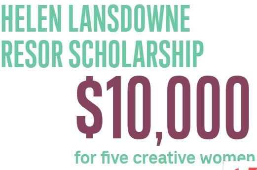 Helen Lansdowne Resor Scholarship for Creative Women
